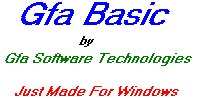 The developer and distributor of &#13GFA BASIC &#13for Windows